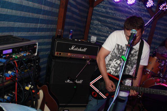 marty s kytarou